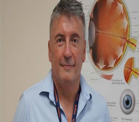 HSA Consultant Ophthalmologist, Ermanno Scerrati