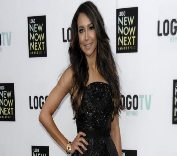 "FILE - Actress Naya Rivera arrives at Logo's NewNowNext Awards in Los Angeles on April 13, 2013. Authorities say former ""Glee"" star Naya Rivera is missing and being searched for at a Southern California lake. Rivera played Santana, a cheerleader in the musical-comedy ""Glee"" that aired on Fox from 2009 until 2015. (Photo by Dan Steinberg/Invision/AP, File)"