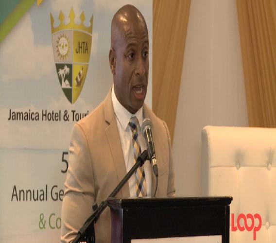 President of the Jamaica Hotel and Tourist Association (JHTA), Omar Robinson.