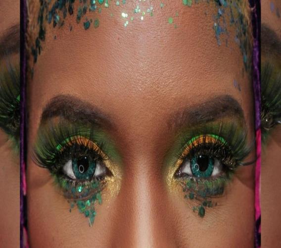 Model Davianne Tucker meets our photog eye to eye. (Photos: Shawn Barnes)