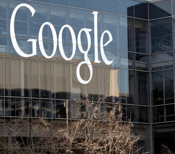This Thursday, January 3, 2013, file photo shows Google's headquarters in Mountain View, Calif. As the Trump administration moves toward antitrust action against search giant Google, it's campaigning to enlist support from sympathetic state attorneys general across the country. (AP Photo/Marcio Jose Sanchez, File)