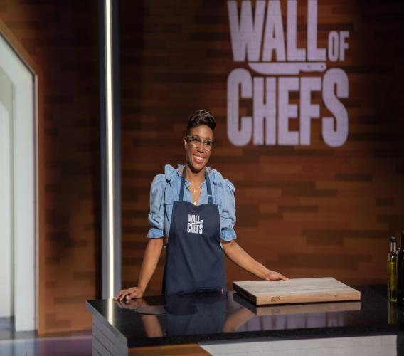 La cheffe Lindsay Brun au concours Wall of Chefs à Toronto, le 8 septembre 2020/ Courtoisie de Lindsay Brun