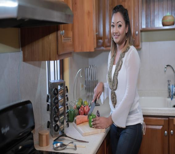 Natasha Laggan is the founder of Trini Cooking with Natasha.