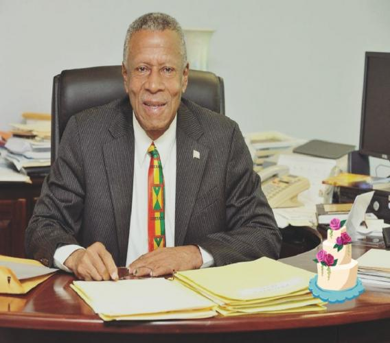 Former Prime Minister of Grenada Tillman Thomas shares his memories with Loop News on the US Intervention in Grenada in the 1980s and how the media of today must remain independent.  (Photo credit: NDC)