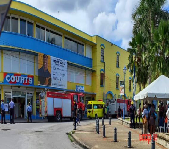 Courts evacuated on November 25.