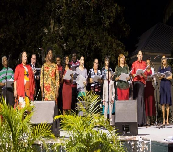 Red Bay Church Choir in fill effect at last year's event (Credit Helene Jones Photography)
