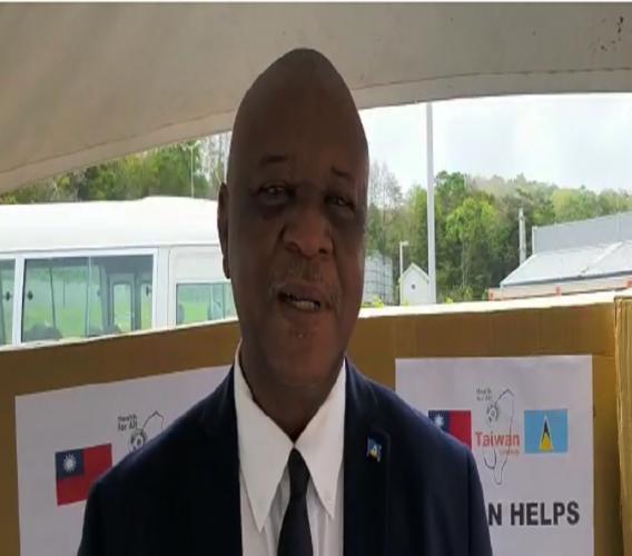 National Security Minister Senator Hermangild Francis