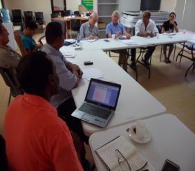 Fao vertegenwoordigers en stakeholders uit de Veeteelt sector.