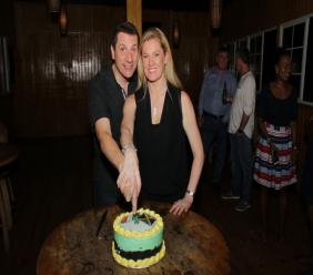 Jason Corrigan and his Trend CEO wife Aileen Corrigan.