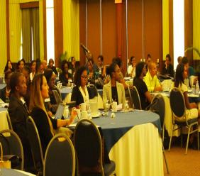 Attendees at the opening ceremony of the inaugural Barbados Bar Association Weekend Law Conference.