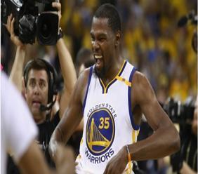 NBA Finals MVP Kevin Durant.