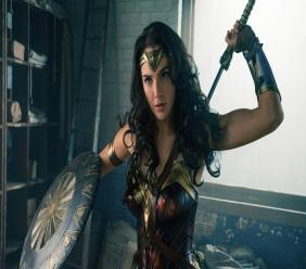 Gal Gadot as Wonder Women.