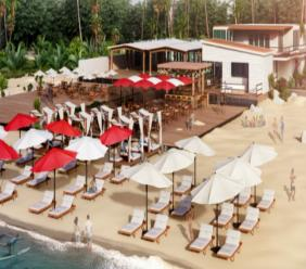 Virgin Holidays' Departure Beach is set to be completed in May 2018.