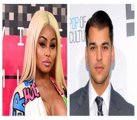 Blac Chyna and Rob Kardashian.