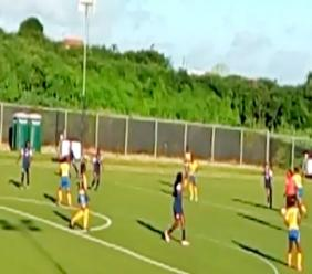 The Barbados SeniorWomen's Football Team, created history when they played the Turks and Caicos Islands.