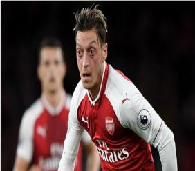 Arsenal attacking midfielder Mesut Ozil.