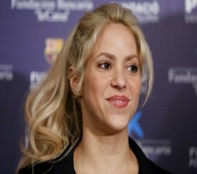 AFP/Archives / PAU BARRENA La chanteuse Shakira, le 28 mars 2017 à Barcelone