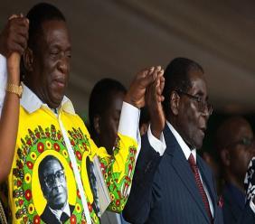 L'ancien vice-président Emmerson Mnangagwa./ Photo crédit: BBC