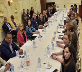 Réunion de suivi sur les progrès de la Table des Caraïbes. Photo: El Dinero