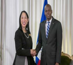 Les Etats-Unis ont un nouvel ambassadeur en Haiti. Photos: Ambassade des Etats-Unis en Haiti