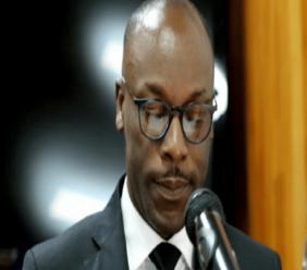 Le Président de la Commission des Affaires Etrangères du Sénat, le Sénateur Nawoon Marcellus