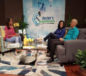 This is the newest feature for the third season of Doctor's Appointment, a half-hour health and wellness television show, hosted by physician and Miss Jamaica World 2006, Dr. Sara Lawrence.