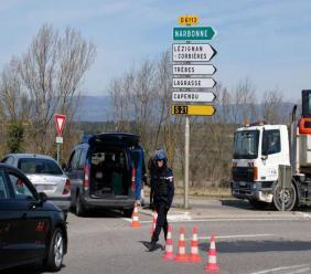 Prise d'otages vendredi matin dans un supermarché de Trèbes (Aude), au moins deux personnes sont mortes.