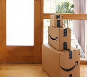 Amazon items upon delivery. Photo via Amazon, Facebook.