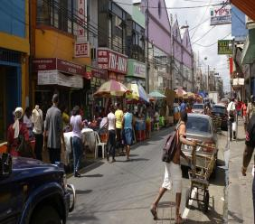 (Photo: Charlotte Street, Port of Spain)