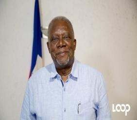 Hervé Denis ministre de la Défensed'Haïti.