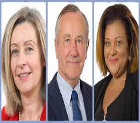 Les Sénateurs Hélène Conway-Mouret, Pierre Louault, Catherine Conconne