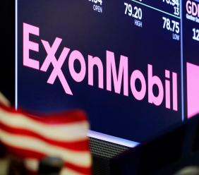 Exxon Mobil added 1.2 percent early Monday, May 7, and Schlumberger rose 1.2 percent. (AP photo)