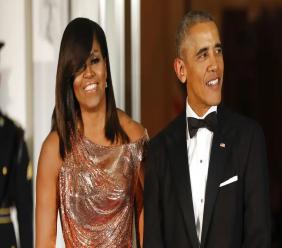 Michelle and Barack Obama (AP Photo/Pablo Martinez Monsivais, File)