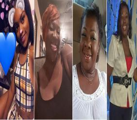 The four victims of a fatal accident in the Bahamas on Friday.