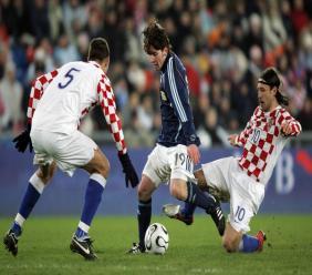 Le 1er mars 2006, #Messi marquait son premier but avec l'Argentine face... à la Croatie mais l'Albiceleste perdait (2-3)/ Crédit Tweet: @nicolas_vilas