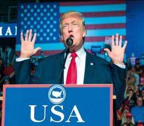 Donald Trump, président des Etats-Unis d'Amérique