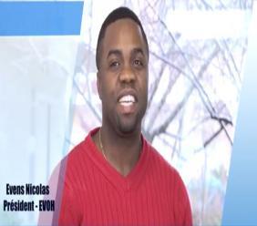 Evens Nicolas, president de l'Association Evolution d'Haiti