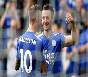 James Maddison and Ben Chilwell.