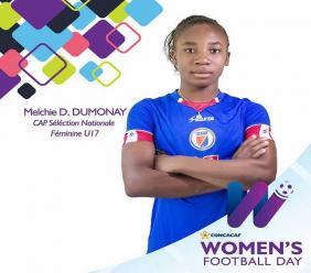 La talentueuse Dumonay.  Photo de la Concacaf.
