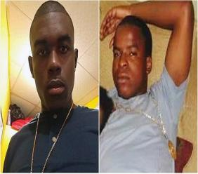 Photo L-R: David Charles and Kurt 'Ratty' Smith were shot and killed in broad daylight in La Puerta, Diego Martin, on August 15, 2018.