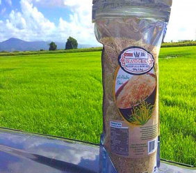 Photo: Island Grain rice is grown and processed in Trinidad and Tobago, and available in most major supermarkets nationwide. Photo courtesy Island Grain.