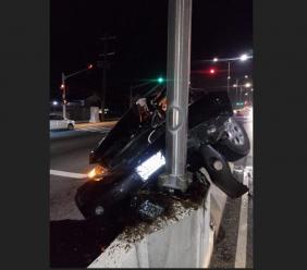 A view of the crash.  (Shawn Barnes photos)