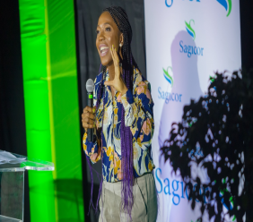 "Two-time Olympic gold medallist Shelly-Ann Fraser-Pryce reminds Sagicor staff that ""life is a race, but you have to be prepared for it"" during her speech at Sagicor's Live Your Passion Sales Rally on Wednesday, October 3, at MovieTowne, Chaguanas."
