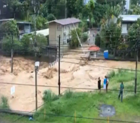 Flooding in Andalusia, Maraval