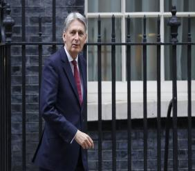 Britain's Chancellor Philip Hammond.