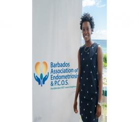 President of the Barbados Association of Endometriosis and PCOS (BAEP), Jasmine Evelyn.