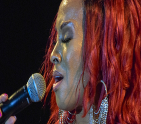 Bajan soca queen Alison Hinds was among the performers at the 2018 Pure Grenada Music Festival.