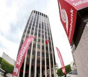 The King Street branch will be amalgamated with the nearby Scotia Centre Headquarters on the corner of Duke and Port Royal Streets. (Loop file photo shows the Scotia Centre)