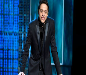 "In this March 14, 2015, file photo, Pete Davidson speaks at a Comedy Central Roast at Sony Pictures Studios in Culver City, Calif. New York police were concerned about Davidson after he wrote ""I don't want to be on this earth anymore"" on Instagram. And they visited the ""Saturday Night Live"" star Saturday, Dec. 15, 2018, to make sure he was OK. (Photo by Chris Pizzello/Invision/AP, File)"