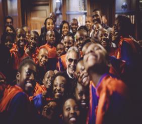 Photo de la Fondation Andrea Bocelli